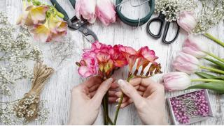 Мастер-классы от компании Flora Style! «Подарочная упаковка», «Композиция в коробочке», «Цветочные изделия» и другие!