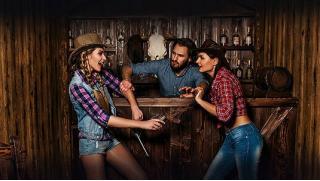 Здесь как в Техасе! Участие в квесте «Дерзкое ограбление на Диком Западе» от компании Lost! Скидка 56%!
