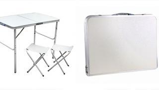 На пикник с комфортом! Мебель для пикника от интернет-магазина Town-Sales! Складной стол и 2 или 4 стула со скидкой 52%!
