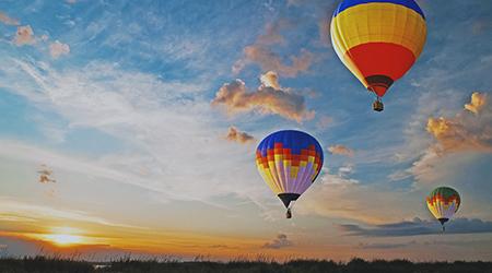 Мечта о полете на воздушном шаре осуществима, Kuponmania дарит 60% скидки!