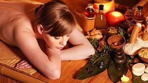 Тайский массаж! Тайский oil-массаж, фут-массаж, трехчасовая королевская SPA-программа в комплексе Лагуна SPA! Скидка 50%