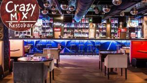 Все меню, напитки и паровые коктейли в сети рестобаров Crazy MiX со скидкой 50%! Три адреса для тусовки на выбор!