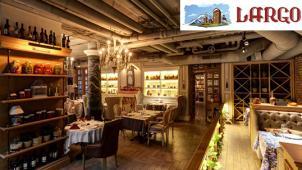 Все меню кухни и напитки в ресторане грузинской кухни Largo со скидкой 50%! Сациви, хачапури, хашлама, чахохбили и не только!