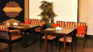Все меню кухни и напитки без ограничения суммы чека со скидкой 50% в ресторане «Марокко»! Горячие и холодные закуски!