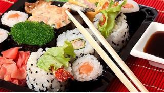Море на вкус! Всё меню кухни от студии лепки роллов «Вкус моря»! Роллы, суши, сеты, горячие блюда, шашлыки из морепродуктов!