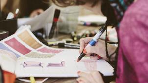 Изложи на холсте! Курс по интерьерному скетчингу от студии живописи Art studio Anna RA со скидкой 50%!