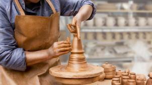 Гончарное дело для двоих Москва! Мастер-классы по гончарному мастерству для одного или двоих в студии MasterstvoMsk!