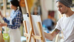 Великий художник! Правополушарное рисование! А так же Тренинги «Рисуем за 1 день» и «Эбру» со скидкой до 53%