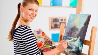 Мастер-классы по живописи от арт-студии Vailet для компании до 4-х человек! Скидка до 66%!