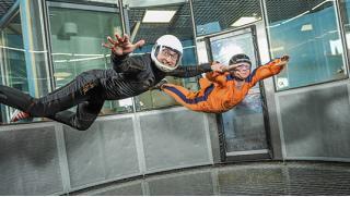 Свобода полета для тебя! Полет в аэротрубе в крытом аэродинамическом комплексе «Свободный полет» со скидкой 51%!