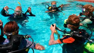 Изучи глубины океана! Базовый курс дайвинга для одного или двоих от дайвинг-клуба «Альтернатива»! Скидка 65%!