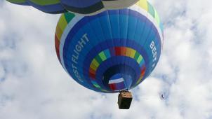 Облетим все вокруг! Полет на воздушном шаре, обряд посвящения в воздухоплаватели с игристым напитком и конфетами от Best Flight