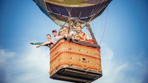 Воздушный шар! Полет на воздушном шаре, обряд посвящения в воздухоплаватели с игристым напитком и конфетами от Best Flight