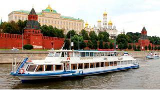 Москва, я люблю тебя! Прогулки на теплоходе по Москве-реке от туристической компании Delta!