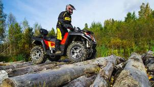 Выбирай на чем гонять! Катание на квадроцикле Yamaha Grizzly 700 или кроссовом мотоцикле Kawasaki KLX 250 от компании Kvadrmoto!