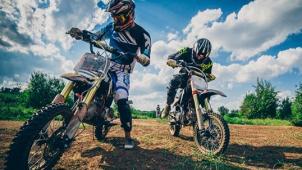 Катание на питбайке или кроссовом мотоцикле! Инструктора, мастер-класс по мотокроссу, фотосессия и видеосъемка!