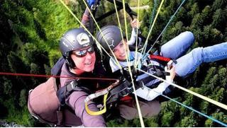 Тандемный полет на параплане для одного или двоих с инструктором от компании Para-Pro! Скидка 57%!