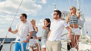 Капитан, капитан! Обучение управлению и трехчасовая прогулка на парусной яхте для 1, 2 или 4 человек от парусного клуба SailMoscow