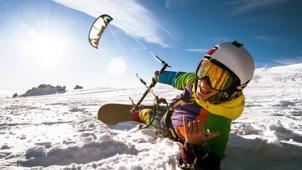 Купон на сноукайтинг для одного или двоих от компании Sailmoscow со скидкой 55%! Гоняем по льду в удовольствие!