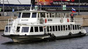 Алые паруса для тебя! Прогулка на теплоходе по Москве-реке от судоходной компании «Алые паруса» со скидкой 60%!