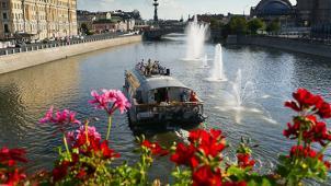Премиум прогулка! Прогулка на теплоходе премиум-класса «Мария Ермолова» по каналу Москвы-реки с обедом или ужином!