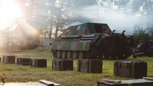 Катание на танке ПТ-САУ Jagdpanther с вождением, экскурсией и фотосессией на фоне танка от клуба «Резерв»! Скидка 50%!