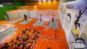 Бери купон! Скидка до 45% в батутном центре World jump на групповые и индивидуальные занятия!