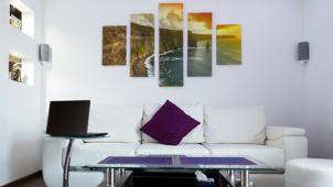 Скидка до 55% на модульные картины, картины на холсте разных форматов или печать фото от компании «Красотища 48»!