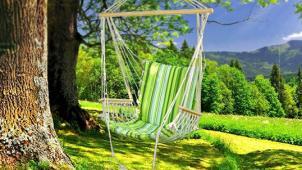 Удобно сидеть, удобно лежать! Кресло-гамак Tatyana от интернет-магазина «Гамакино»! Скидка 70%!