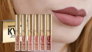 Добавь красок! Набор матовых жидких помад Kylie Birthday Edition от интернет-магазина Spasibomarket со скидкой 75%!