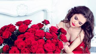 Букеты из свежих эквадорских или голландских роз, тюльпанов в шляпных в коробках от компании TomFleur! Скидка 50%!
