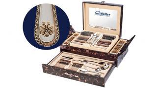 """Премиум на Вашей кухне! Столовый набор из 72-х предметов """"Haus Muller"""" всего за 5290 руб вместо 12000 руб! Скидка 50%!"""