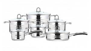 Набор посуды из 12 предметов «Frank Moller FM-812»! Готовить одно удовольствие!