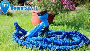 Для твоего сада! Универсальный чудо-шланг Xhose или насадка-распылитель от интернет-магазина Town-Sales! Скидка до 81%!