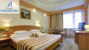 Отель в Москве! 2 дня/1 ночь в двухместном номере выбранной категории в отеле «Бета» или «Альфа» комплекса «Измайлово»!