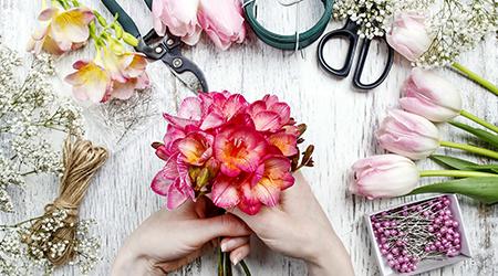 Скидка 59-75% на профессиональные курсы флористики Flora Style!