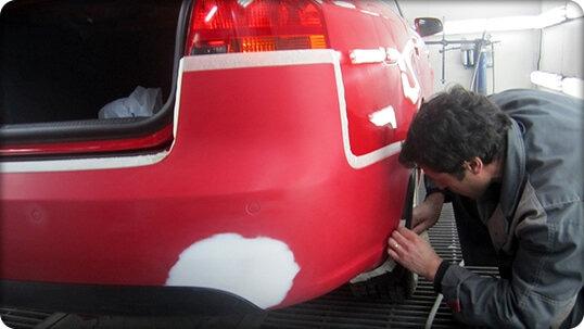 Покраска автомобиля в переход своими руками