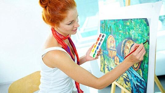 Купон на мастер класс по рисованию